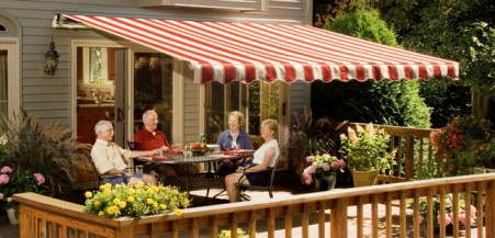 SunSetter Awnings Offer Custom Built Features Without The Price